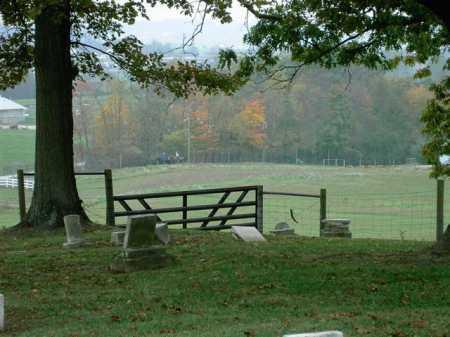 THOMPSON, CEMETERY - VIEW 2 - Wayne County, Ohio | CEMETERY - VIEW 2 THOMPSON - Ohio Gravestone Photos