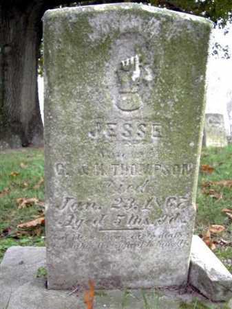 THOMPSON, JESSE - Wayne County, Ohio   JESSE THOMPSON - Ohio Gravestone Photos