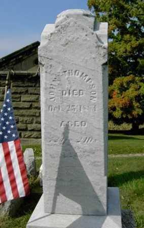 THOMPSON, JOHN - Wayne County, Ohio | JOHN THOMPSON - Ohio Gravestone Photos