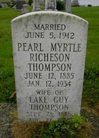 THOMPSON, LAKE GUY - Wayne County, Ohio | LAKE GUY THOMPSON - Ohio Gravestone Photos