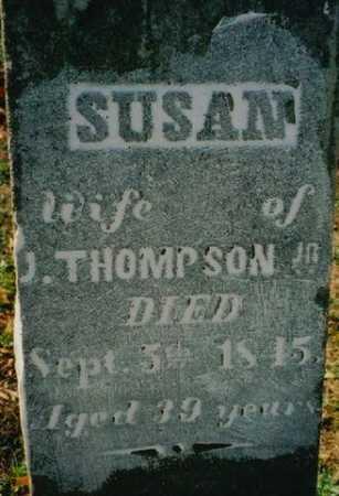 THOMPSON, SUSAN - Wayne County, Ohio   SUSAN THOMPSON - Ohio Gravestone Photos