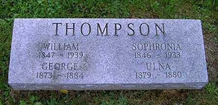 THOMPSON, SOPHRONIA - Wayne County, Ohio   SOPHRONIA THOMPSON - Ohio Gravestone Photos