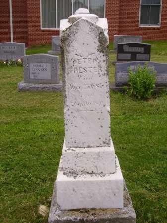 TRESTER, PETER - MONUMENT - Wayne County, Ohio | PETER - MONUMENT TRESTER - Ohio Gravestone Photos