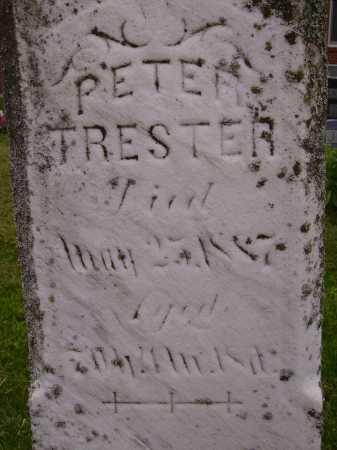 TRESTER, PETER - CLOSE VIEW - Wayne County, Ohio | PETER - CLOSE VIEW TRESTER - Ohio Gravestone Photos