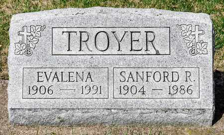 TROYER, SANFORD R - Wayne County, Ohio | SANFORD R TROYER - Ohio Gravestone Photos