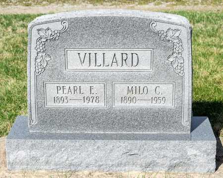 VILLARD, PEARL E - Wayne County, Ohio | PEARL E VILLARD - Ohio Gravestone Photos