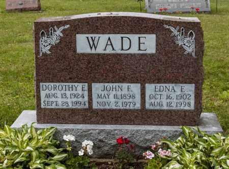 WADE, DOROTHY E. - Wayne County, Ohio | DOROTHY E. WADE - Ohio Gravestone Photos