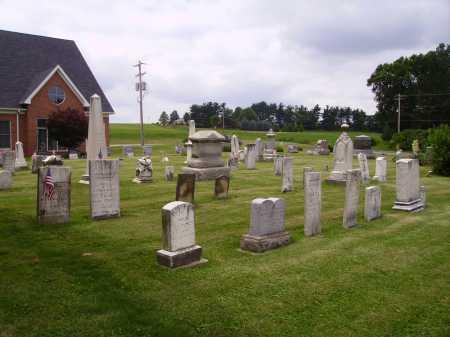 WAYNE PRESBYTERIAN CHURCH, CEMETERY  OVERALL VIEW 1 - Wayne County, Ohio | CEMETERY  OVERALL VIEW 1 WAYNE PRESBYTERIAN CHURCH - Ohio Gravestone Photos