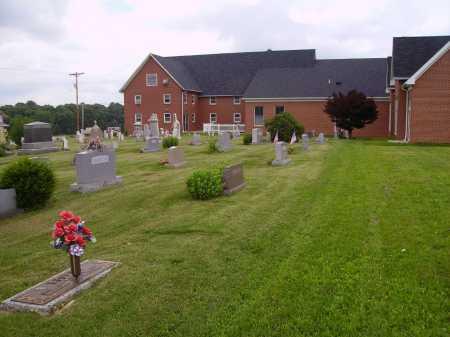 WAYNE PRESBYTERIAN CHURCH, CEMETERY OVERALL VIEW 3 - Wayne County, Ohio | CEMETERY OVERALL VIEW 3 WAYNE PRESBYTERIAN CHURCH - Ohio Gravestone Photos