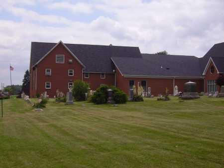 WAYNE PRESBYTERIAN CHURCH, CEMETERY OVERALL VIEW 2 - Wayne County, Ohio | CEMETERY OVERALL VIEW 2 WAYNE PRESBYTERIAN CHURCH - Ohio Gravestone Photos