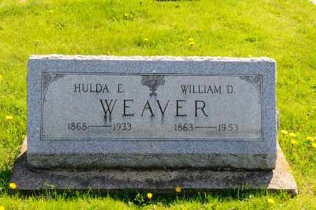 WEAVER, WILLIAM D. - Wayne County, Ohio | WILLIAM D. WEAVER - Ohio Gravestone Photos