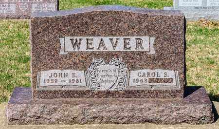 WEAVER, JOHN E - Wayne County, Ohio   JOHN E WEAVER - Ohio Gravestone Photos
