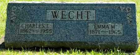 WECHT, CHARLES E. - Wayne County, Ohio   CHARLES E. WECHT - Ohio Gravestone Photos