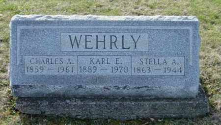 WEHRLY, KARL E. - Wayne County, Ohio | KARL E. WEHRLY - Ohio Gravestone Photos
