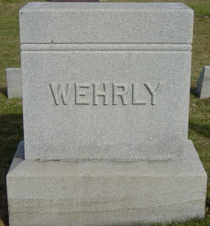 WEHRLY, JOHN - Wayne County, Ohio | JOHN WEHRLY - Ohio Gravestone Photos