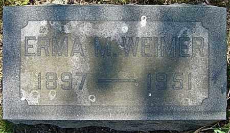 WEIMER, ERMA MARTHA - Wayne County, Ohio | ERMA MARTHA WEIMER - Ohio Gravestone Photos