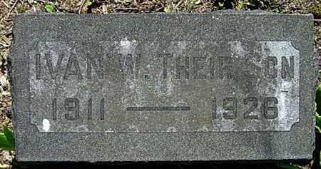WEIMER, IVAN WESLER - Wayne County, Ohio | IVAN WESLER WEIMER - Ohio Gravestone Photos