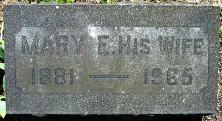 WIRTH WEIMER, MARY E. - Wayne County, Ohio | MARY E. WIRTH WEIMER - Ohio Gravestone Photos
