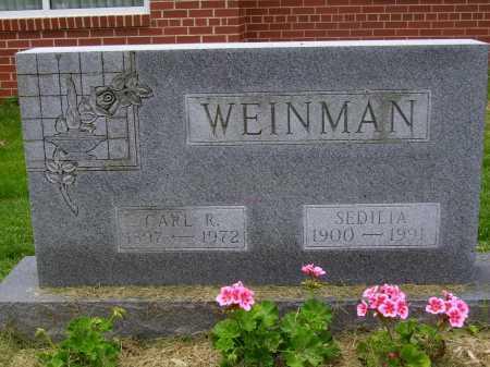 WEINMAN, CARL R. - Wayne County, Ohio | CARL R. WEINMAN - Ohio Gravestone Photos
