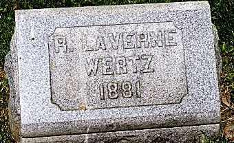 WERTZ, R. LAVERNE - Wayne County, Ohio | R. LAVERNE WERTZ - Ohio Gravestone Photos