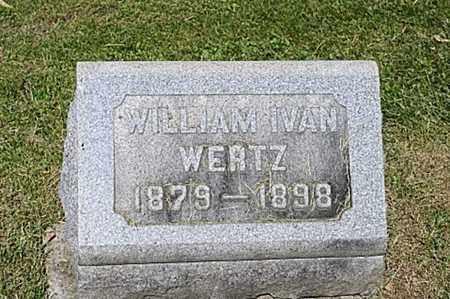 WERTZ, WILLIAM IVAN - Wayne County, Ohio   WILLIAM IVAN WERTZ - Ohio Gravestone Photos