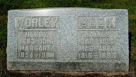 COOK WORLEY, MARGARET - Wayne County, Ohio | MARGARET COOK WORLEY - Ohio Gravestone Photos