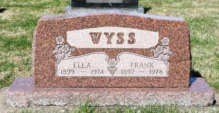 WYSS, FRANK - Wayne County, Ohio | FRANK WYSS - Ohio Gravestone Photos