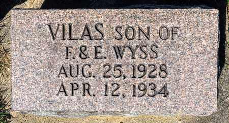 WYSS, VILAS - Wayne County, Ohio | VILAS WYSS - Ohio Gravestone Photos