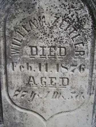 ZEITLER, WILLIAM - CLOSEVIEW - Wayne County, Ohio   WILLIAM - CLOSEVIEW ZEITLER - Ohio Gravestone Photos