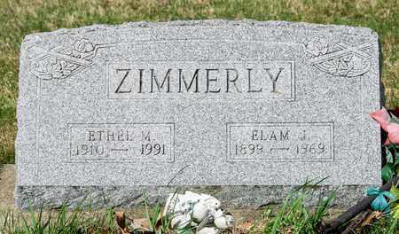 ZIMMERLY, ELAM J - Wayne County, Ohio | ELAM J ZIMMERLY - Ohio Gravestone Photos