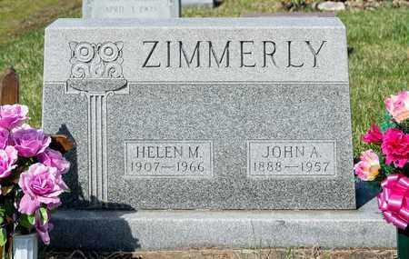 ZIMMERLY, HELEN M - Wayne County, Ohio | HELEN M ZIMMERLY - Ohio Gravestone Photos