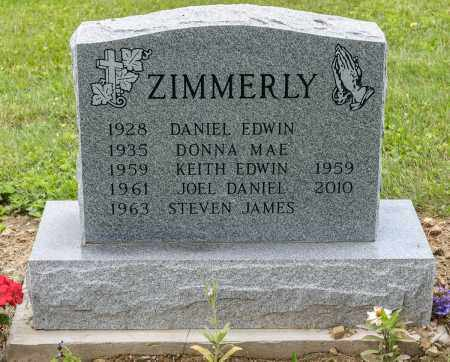 ZIMMERLY, KEITH EDWIN - Wayne County, Ohio | KEITH EDWIN ZIMMERLY - Ohio Gravestone Photos