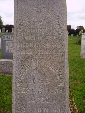 ZIMMERMAN, SAMUEL - CLOSEVIEW - Wayne County, Ohio   SAMUEL - CLOSEVIEW ZIMMERMAN - Ohio Gravestone Photos