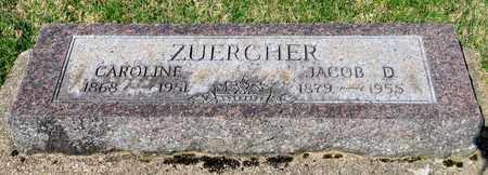 ZUERCHER, CAROLINE - Wayne County, Ohio | CAROLINE ZUERCHER - Ohio Gravestone Photos