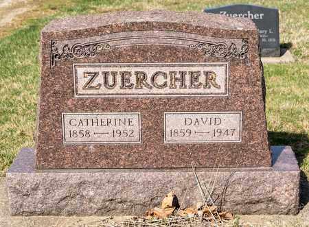 ZUERCHER, CATHERINE - Wayne County, Ohio | CATHERINE ZUERCHER - Ohio Gravestone Photos