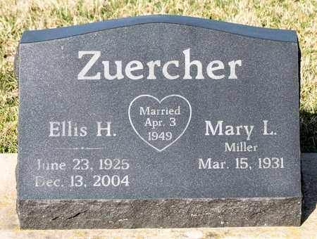 ZUERCHER, ELLIS H - Wayne County, Ohio   ELLIS H ZUERCHER - Ohio Gravestone Photos