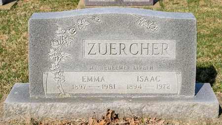 ZUERCHER, ISAAC - Wayne County, Ohio   ISAAC ZUERCHER - Ohio Gravestone Photos