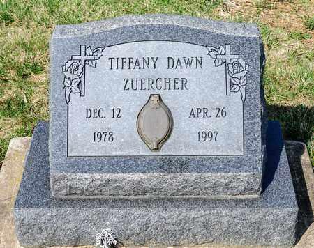 ZUERCHER, TIFFANY DAWN - Wayne County, Ohio   TIFFANY DAWN ZUERCHER - Ohio Gravestone Photos