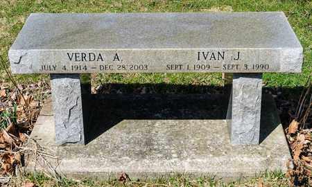 ZUERCHER, IVAN J - Wayne County, Ohio | IVAN J ZUERCHER - Ohio Gravestone Photos