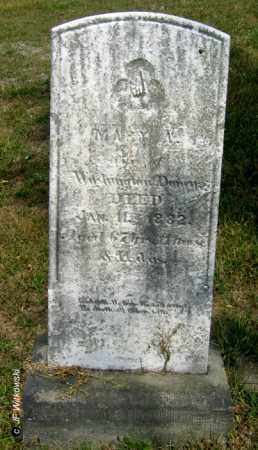 DONNER, MARY A. - Williams County, Ohio | MARY A. DONNER - Ohio Gravestone Photos