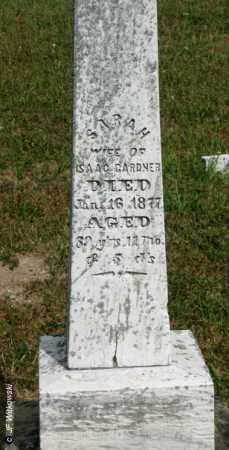 GARDNER, SARAH - Williams County, Ohio | SARAH GARDNER - Ohio Gravestone Photos