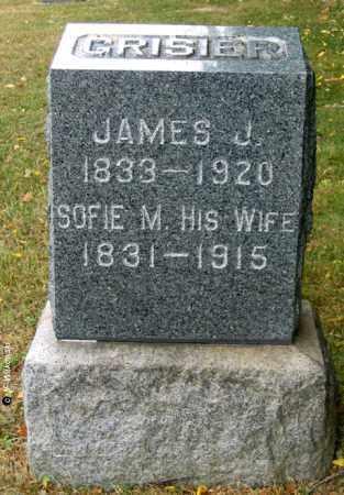 GRISIER, JAMES JAQUES - Williams County, Ohio | JAMES JAQUES GRISIER - Ohio Gravestone Photos