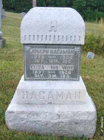 HAGAMAN, ELIZA - Williams County, Ohio | ELIZA HAGAMAN - Ohio Gravestone Photos