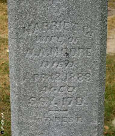 MOORE, HARRIETT CORNELIA - Williams County, Ohio | HARRIETT CORNELIA MOORE - Ohio Gravestone Photos