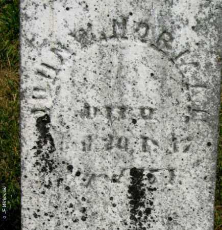 MORMAN, JOHN W. - Williams County, Ohio   JOHN W. MORMAN - Ohio Gravestone Photos