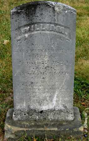 WALLACE, WILLIAM - Williams County, Ohio   WILLIAM WALLACE - Ohio Gravestone Photos
