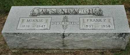 AUSENBAUGH, FRANK P. - Wood County, Ohio | FRANK P. AUSENBAUGH - Ohio Gravestone Photos