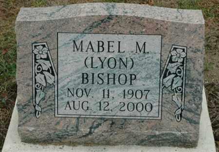 LYON BISHOP, MABEL M. - Wood County, Ohio | MABEL M. LYON BISHOP - Ohio Gravestone Photos