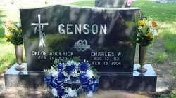 GENSON, CHARLES WILSON - Wood County, Ohio | CHARLES WILSON GENSON - Ohio Gravestone Photos