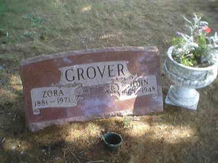 MCINTOSH GROVER, ZORA - Wood County, Ohio | ZORA MCINTOSH GROVER - Ohio Gravestone Photos